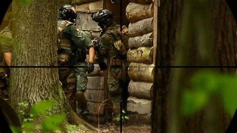 Airsoft Sniper Series Sniping From a Hide - YouTube