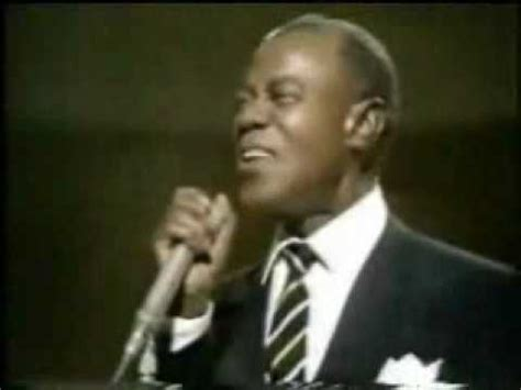 LOUIS ARMSTRONG: what a wonderful world - Que mundo
