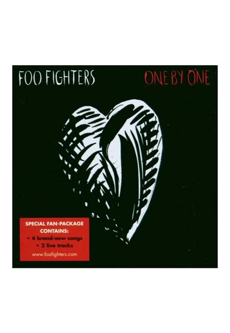 Foo Fighters - One By One - CD - Official Grunge