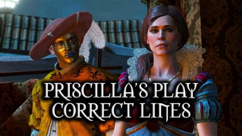 The Witcher 3: Wild Hunt - Priscilla's Play - Correct