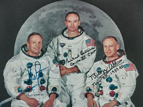 ArtDependence | Apollo 11 Crew Signed WSS Lithograph at