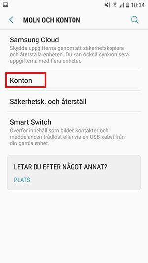 Konfigurera e-post med Android - Guide - Support - Privat