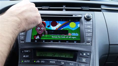 Toyota Prius bilstereo Android navigation installation