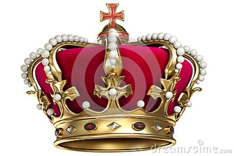 Gold Crown With Gems Royalty Free Stock Photos - Image