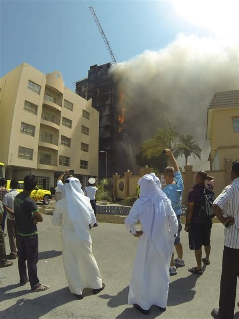 Building near US naval base in Bahrain catches fire - News