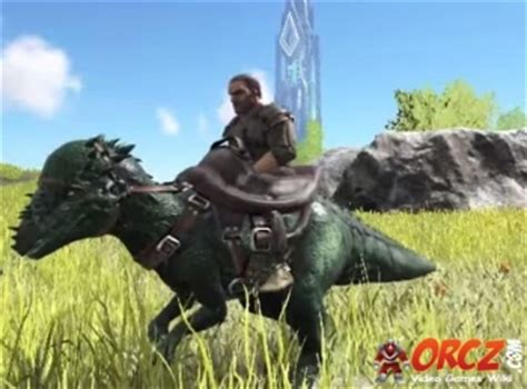 ARK Survival Evolved: Pachy Saddle - Orcz