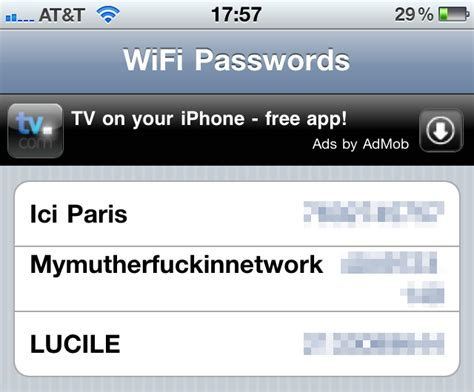 This iPhone App Makes Sure You Never Forget a Wifi