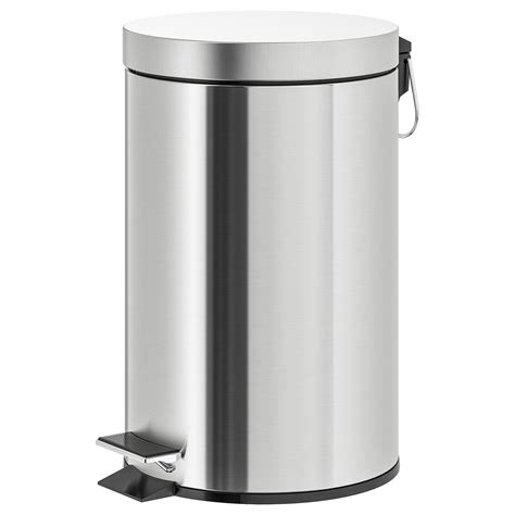 STRAPATS Pedal bin - stainless steel - IKEA