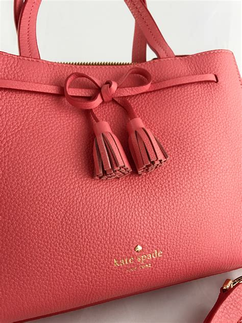 Kate Spade Hayes Street Small Isobel Leather Satchel Guava