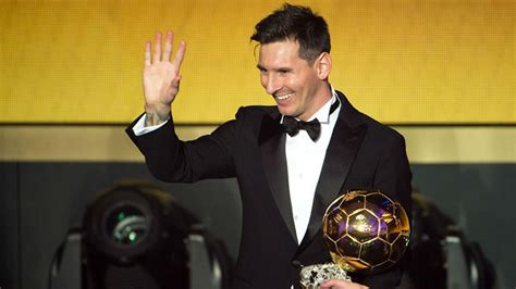 Lionel Messi wins fifth Ballon d'Or award   : The World Game