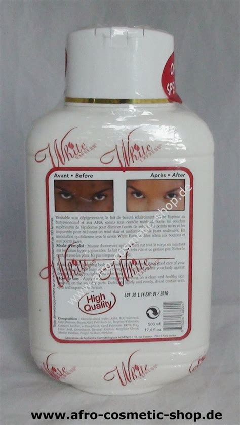 White Express Body Lotion - Afro Cosmetic Shop