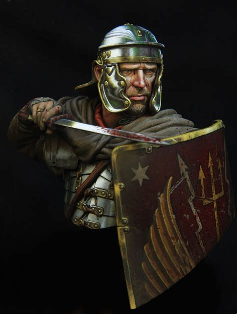 Roman legionairre 110 boxart for Young miniatures by
