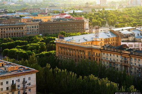Volgograd – the view from above · Russia Travel Blog