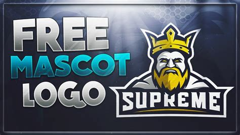 How To Make A Free E-Sports Gaming Mascot Logo WITHOUT